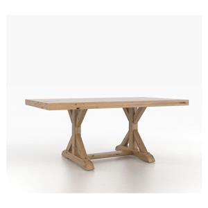 Canadel Loft - Custom Dining Trestle Table