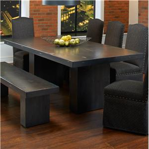 Canadel Loft - Custom Dining <b>Customizable</b> Rectangular Table
