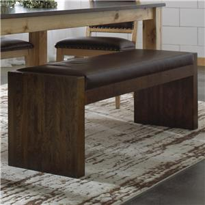Canadel Loft - Custom Dining <b>Customizable</b> Upholstered Bench