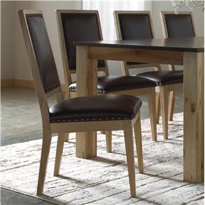 Canadel Loft - Custom Dining <b>Customizable</b> Upholstered Side Chair