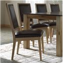 Canadel Loft - Custom Dining <b>Customizable</b> Upholstered Side Chair - Item Number: CHA05049XE02RNA