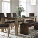 Canadel Loft - Custom Dining Customizable Rectangular Table