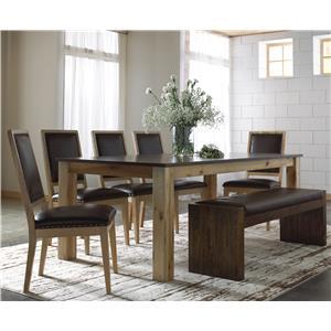 Canadel Loft - Custom Dining <b>Customizable</b> Rectangular Table Set