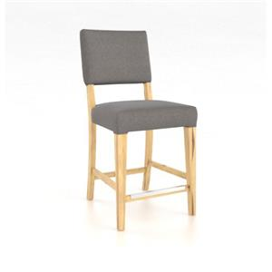 "Canadel Loft - Custom Dining <b>Customizable</b> 24"" Fixed Stool"