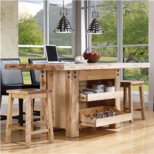 Canadel Loft - Custom Dining <b>Customizable</b> Island Table