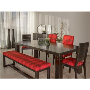 Canadel Loft - Custom Dining <b>Customizable</b> Rectangular Table Set