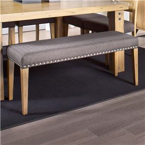 Canadel Loft - Custom Dining <b>Customizable</b> Upholstered Dining Bench
