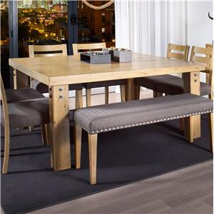 Canadel Loft - Custom Dining <b>Customizable</b> Square Dining Table