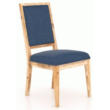 Loft - Custom Dining Customizable Side Chair by Canadel at Dinette Depot