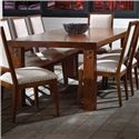 Canadel Loft - Custom Dining <b>Customizable</b> Rectangular Table - Item Number: TRE0428833NARPKNF