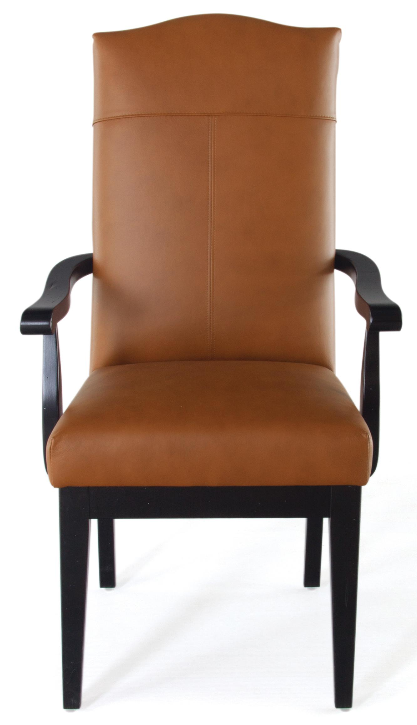 Canadel Loft Custom Dining Customizable Upholstered Arm Chair Dunk & Bright Furniture