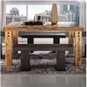 Canadel Loft - Custom Dining <b>Customizable</b> Square Table - Item Number: TSQ0606002NARPKNF