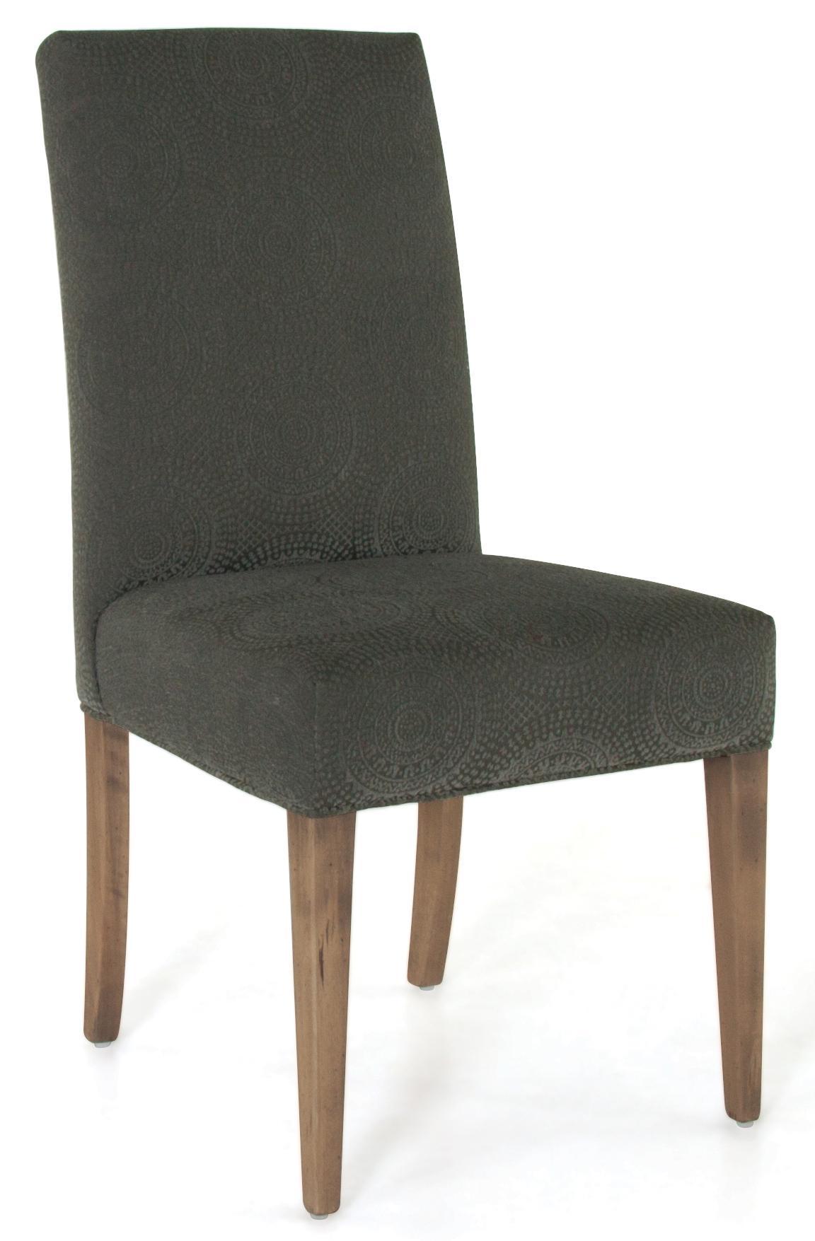 Canadel loft custom dining cha050503q20rna customizable for B q dining room furniture