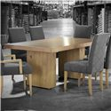 Canadel Loft - Custom Dining <b>Customizable</b> Rectangular Table - Item Number: TRE0427220NARPSNF+BAS