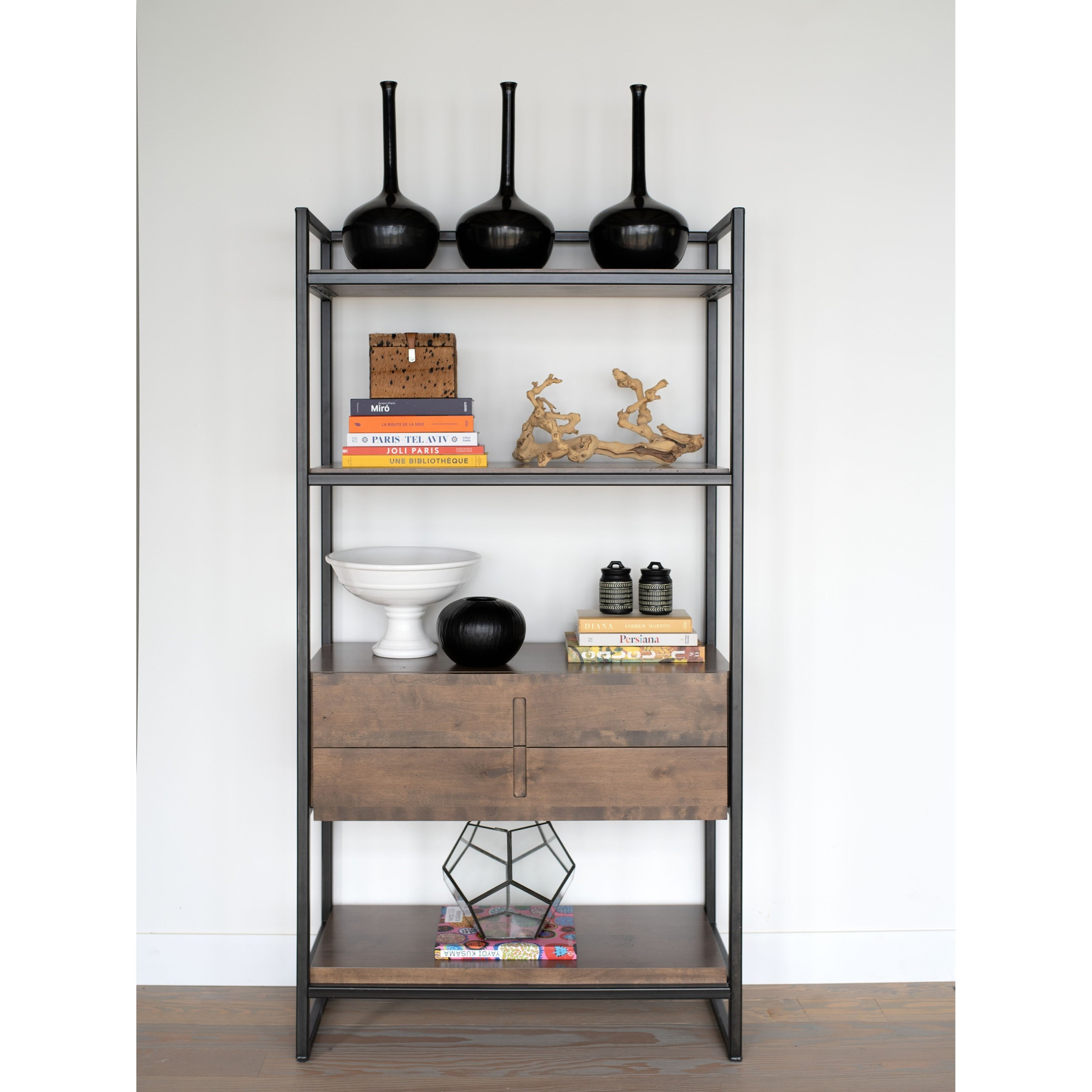 Loft Customizable Buffet/Bookcase by Canadel at Dinette Depot