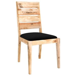 Customizable Side Chair w/ Upholstered Seat
