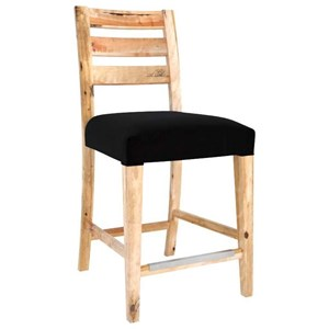 "Customizable 24"" Fixed Stool"