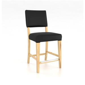 "Canadel Loft <b>Customizable</b> 24"" Fixed Stool"