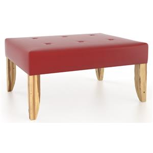 Canadel Loft - Living <b>Customizable</b> Rectangular Ottoman