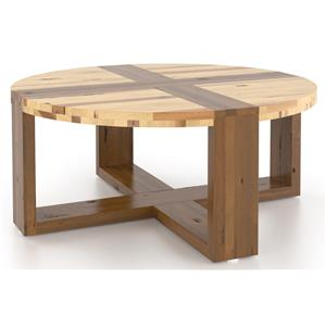 Canadel Loft - Living <b>Customizable</b> Round Coffee Table