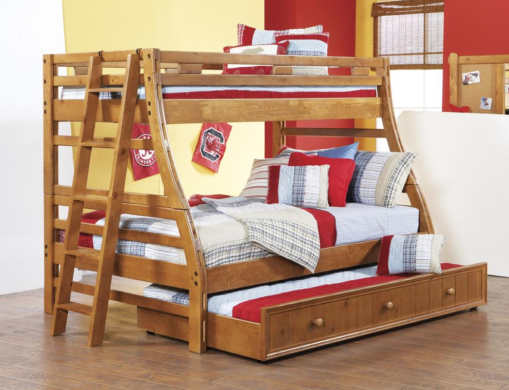 Morris Home Furnishings Cisco Cisco Twin/Full Bunk Bed - Item Number: 473816151