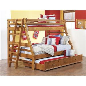 Morris Home Furnishings Cisco Cisco Twin/Full Bunk Bed