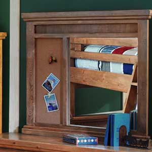 Canyon Rustic Dresser Mirror