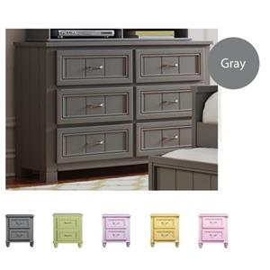 Morris Home Furnishings Cottage Hill 6-Drawer Dresser