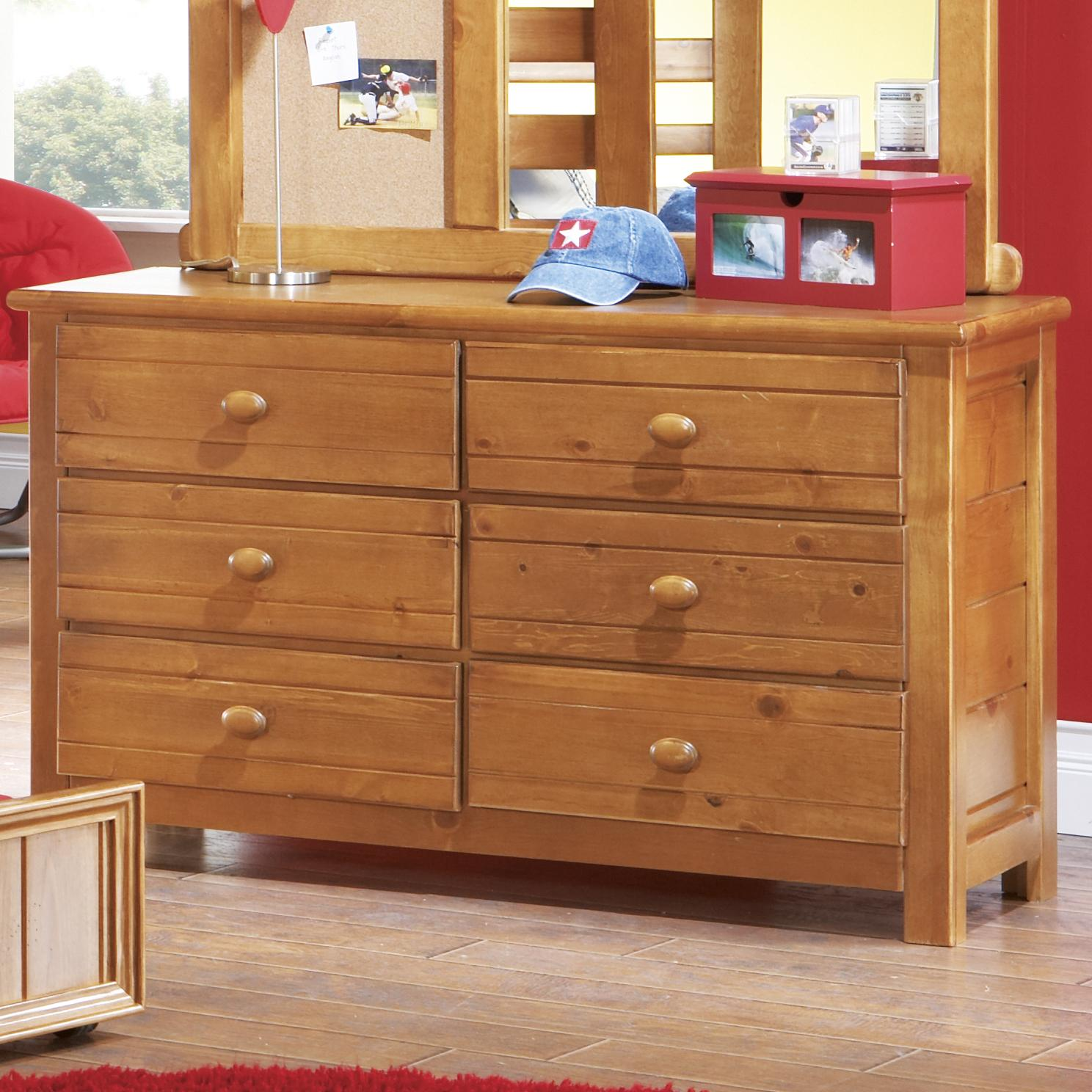 Morris Home Furnishings Cisco Cisco 6 Drawer Dresser - Item Number: 90H-206