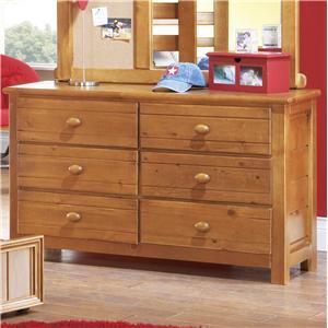 Morris Home Furnishings Cisco Cisco 6 Drawer Dresser