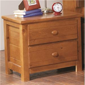 Morris Home Furnishings Cisco Cisco 2 Drawer Nightstand