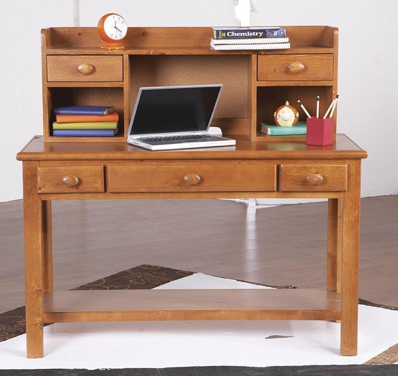 Morris Home Furnishings Cisco Cisco Computer Desk & Hutch - Item Number: 90H-603/766