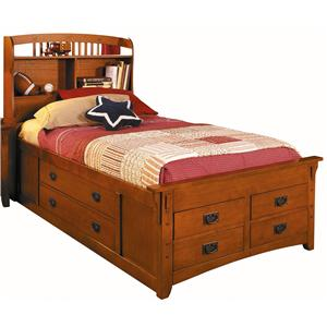 canyon mission full captain bed