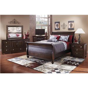 Canyon Tahoe Rustic Style Queen Bedroom Group
