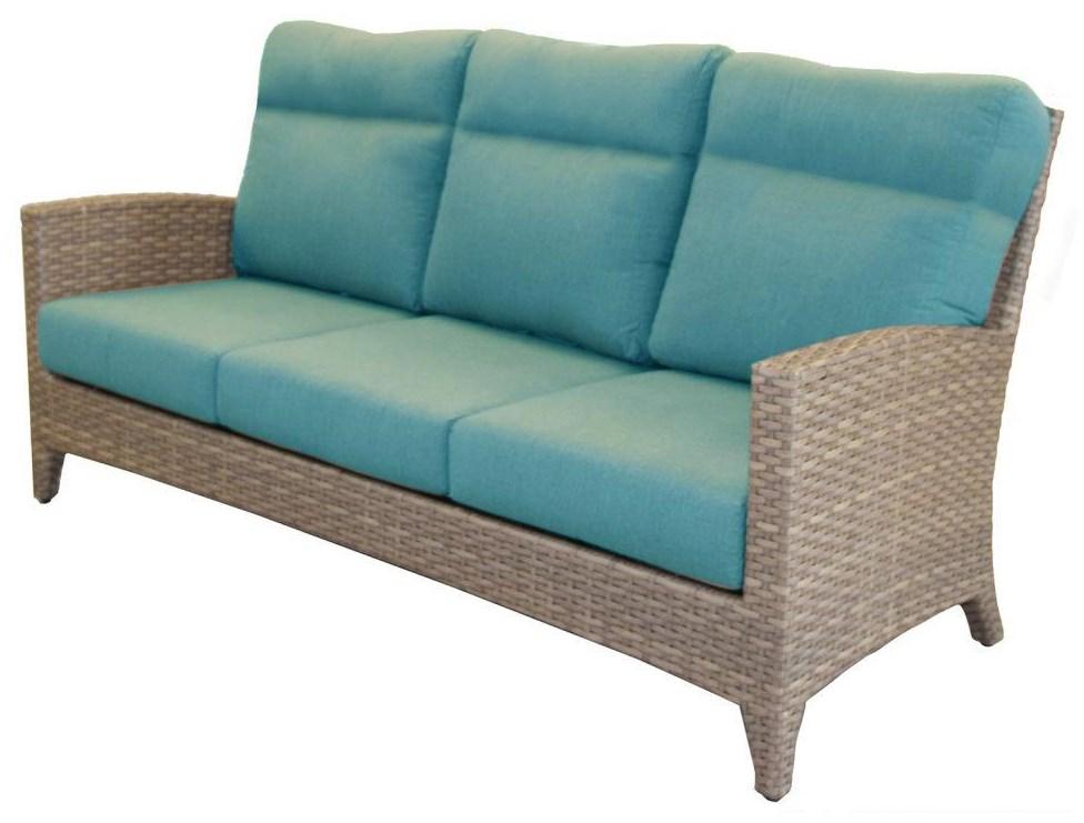 Sofa with 2 Throw Pillow
