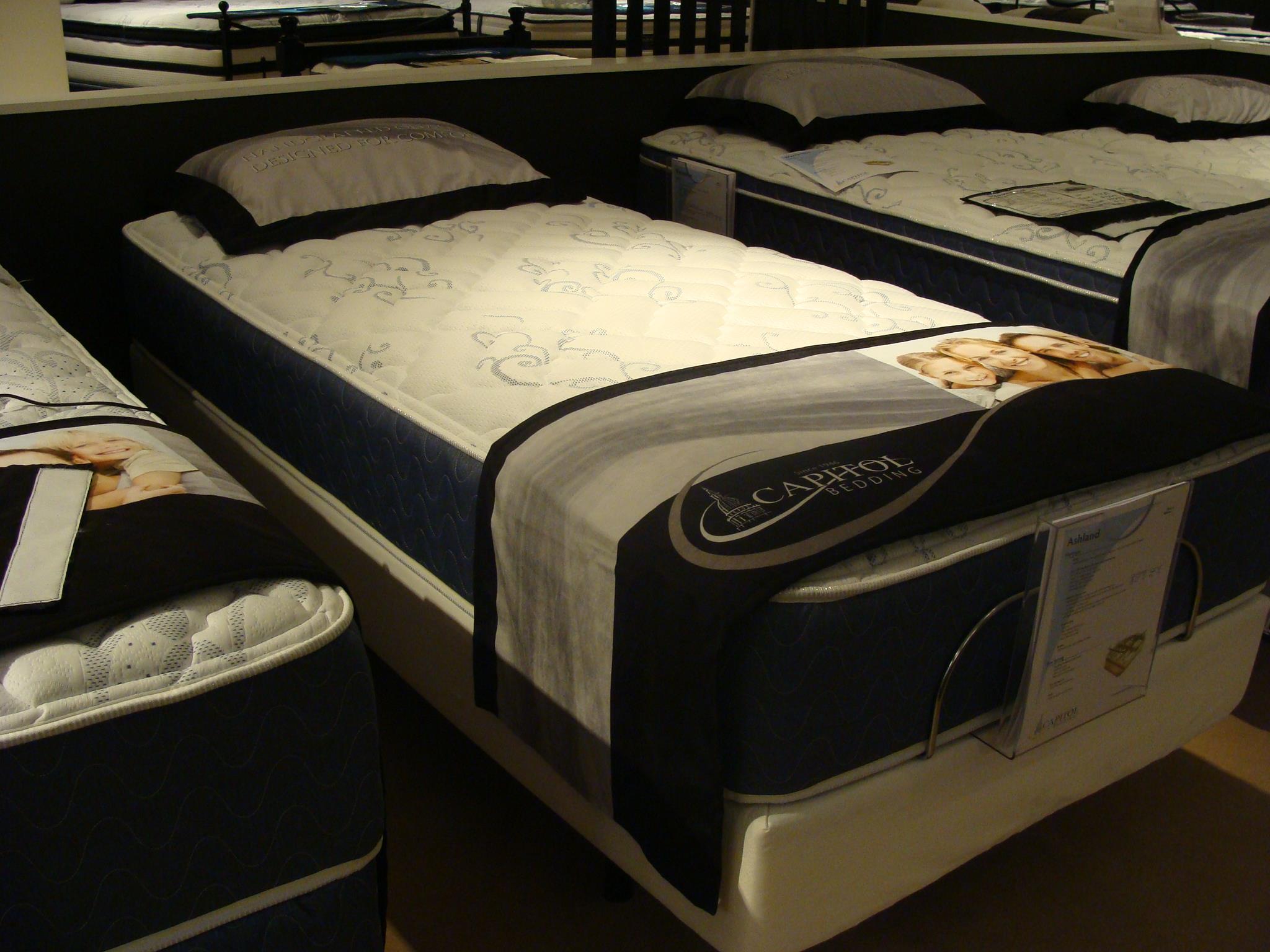 Capitol Bedding Ashland King Mattress Set - Item Number: VertiCoil-K+2xSFH-K