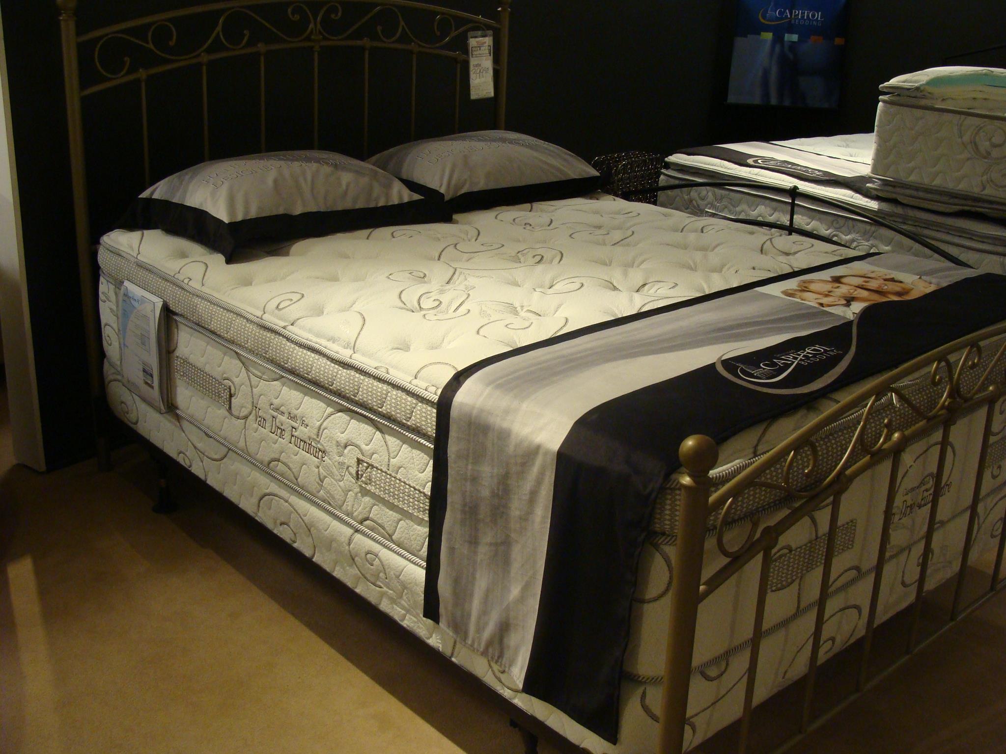 Capitol Bedding Grandeur King Firm Mattress Set - Item Number: Firm-K+2xHMI-K
