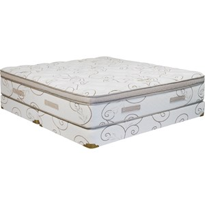 Capitol Bedding Grandeur Queen Firm Low Profile Set