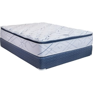 Capitol Bedding Eclipse Pillow Top King Pillow Top Mattress Set