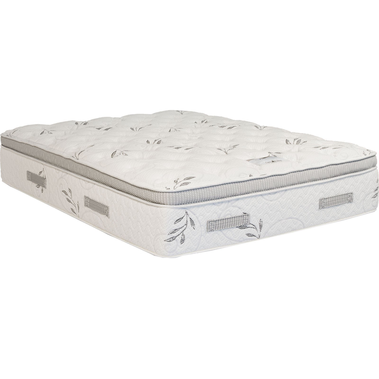 Capitol Bedding Opulence Queen Pillow Top Mattress, Adj Set - Item Number: PillowTop-Q+Essential-Q