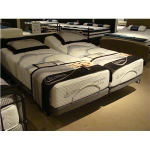 Capitol Bedding Evening Dreams Latex Firm Queen Firm Latex Adjustable Set