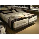 Capitol Bedding Evening Dreams Latex Firm Twin XL Firm Latex Adjustable Set - Item Number: LatexFM-TXL+Essential-TXL