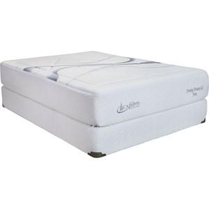 Capitol Bedding Evening Dreams King Plush Gel Memory Foam Mattress Set