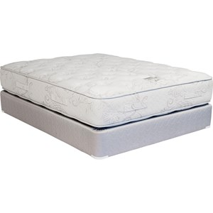 Capitol Bedding Firm and Soft Comfort Plush King Plush Two Sided Innerspring Set