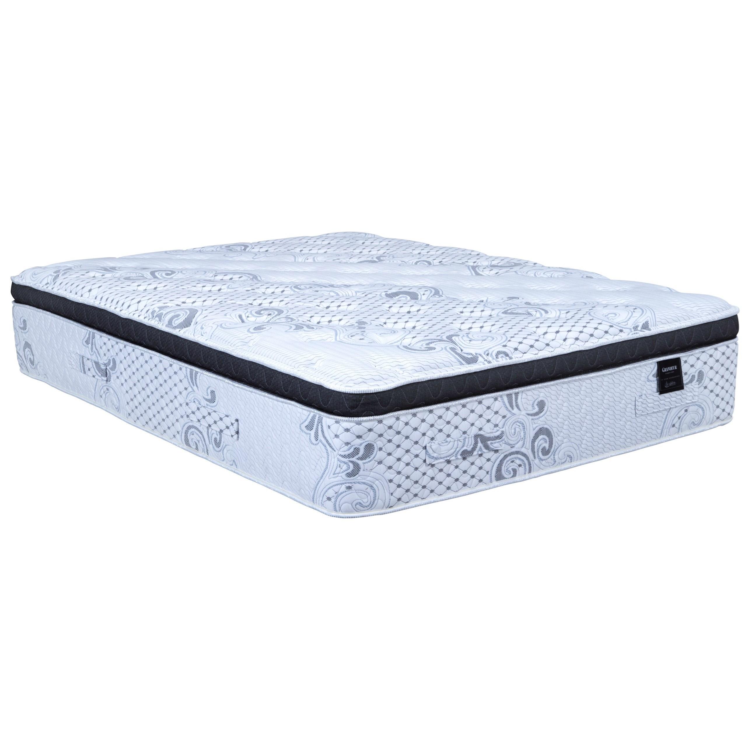 grandeur hybrid pillow top king firm hybrid pillow top mattress
