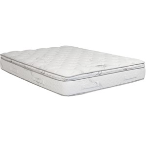 King Gel Memory Foam Pillow Top Mattress