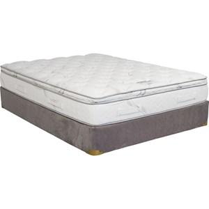 King Gel Memory Foam Pillow Top LP Set