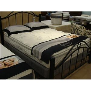 Capitol Bedding Harmony II Gel Queen Pillow Top Mattress Set