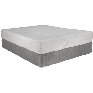 "Capitol Bedding Melrose Gel Queen 10"" Gel Memory Foam Mattress Set"