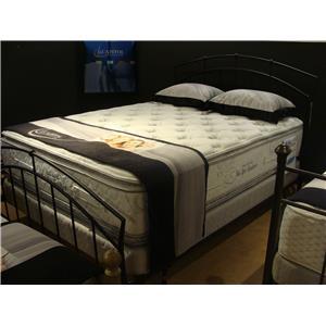 Capitol Bedding Pillow Cloud Queen Pocketed Coil Mattress Set